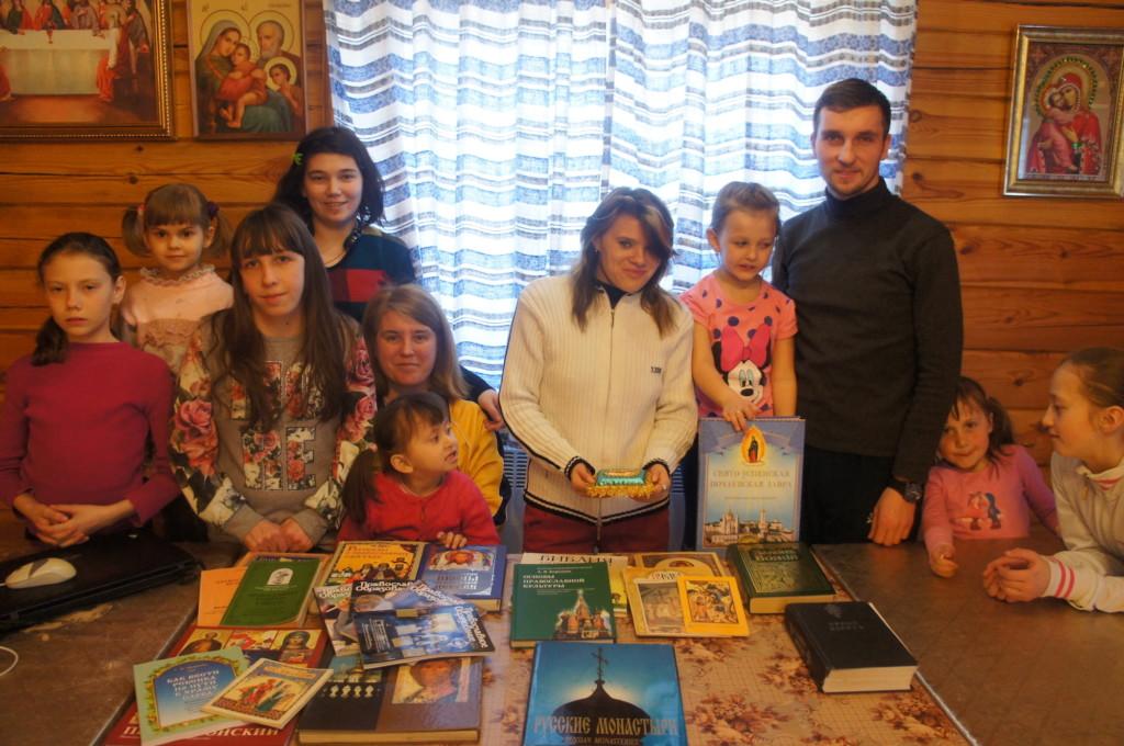 День православной книги на приходе Казанского храма деревни Богдановка